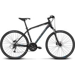 "2018 KROSS 28"" EVADO 6 vel.21"" - black/blue matt"