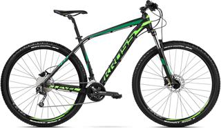 "2018 KROSS 27,5"" LEVEL 4.0 vel.16"" - black/green/dark green matt"