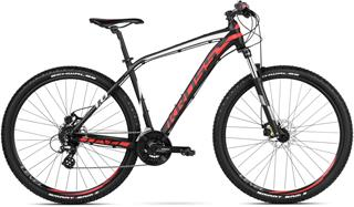 "2018 KROSS 29"" LEVEL 1.0 vel.23"" - black/red/white matt"