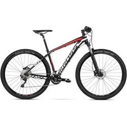 "2018 KROSS 29"" LEVEL 6.0 vel.21"" - black/white/red matt"