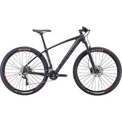 "29""  SILVERBACK 2020 Storm - 19"" - raw carbon/ hot red/ aston black"