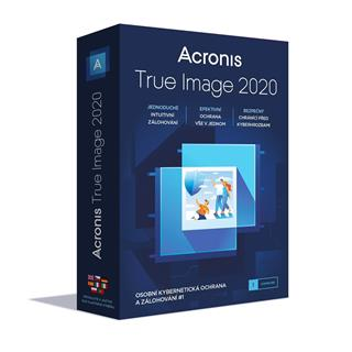 Acronis True Image 2020 - 5 PC, BOX