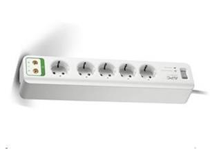 APC Essential SurgeArrest 5 outlets with coax protection 230V France - přepěťová ochrana 5 zásuvek 1,8m