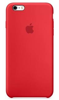 APPLE iPhone 6S Silicone Case - PRODUCT RED (mky32zm/a)