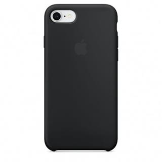 APPLE iPhone 8/7 Silicone Case - Black (mqgk2zm/a)