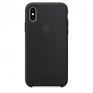 APPLE iPhone XS Silicone Case - Black (mrw72zm/a)