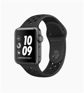 APPLE Watch Nike+ GPS, 38mm Space Grey Aluminium Case with Anthracite/Black Nike Sport Band