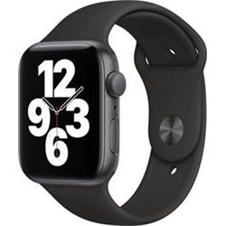 APPLE Watch SE 44mm Space Gray Aluminium Case with Black Sport Band - Regular