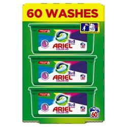 Ariel tablety 3 in 1 Colour 3x20