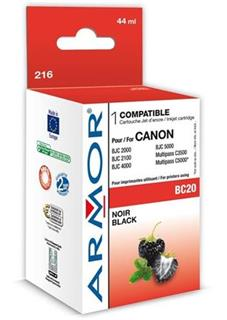 ARMOR cartridge BC20 pro CANON BJC2000/4000 Black (BC-20) - alternativní