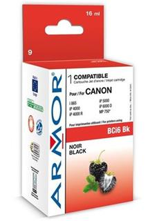 ARMOR cartridge BCI6bk pro CANON S800/900/i860/i960 Black (BCI-6Bk) - alternativní