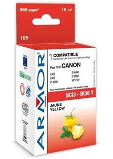 ARMOR cartridge BCI6Y pro CANON S800/900/i860/i960 Yellow (BCI-6/3Y) - alternativní