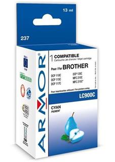 ARMOR cartridge pro BROTHER DCP-110/115 Cyan (LC-900C) - alternativní