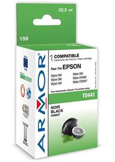 ARMOR cartridge pro EPSON C64/66/84/86/CX4600/6400 Black (T044140) - alternativní