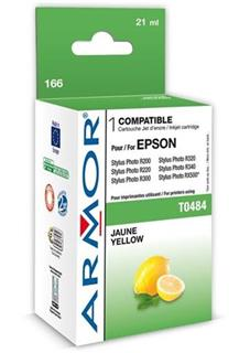 ARMOR cartridge pro EPSON Stylus Photo R200/R300/RX500/RX600 yellow (T048440) - alternativní