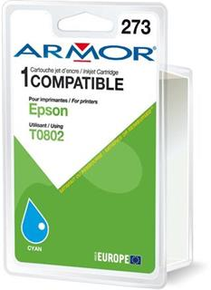 ARMOR cartridge pro Epson Stylus Photo R265 cyan (T080240) - alternativní