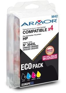 ARMOR multipack HP 364XL pro HP Photosmart B8550 (1BK+1C+1M+1Y) - alternativní