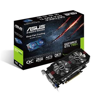 ASUS GeForce GTX 750 Ti GTX750TI-OC-2GD5