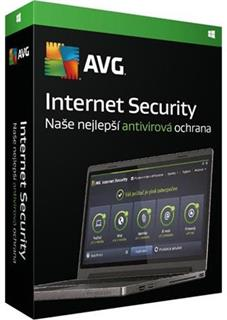 AVG Internet Security 1 lic. 3 roky, DVD, ISCEN36DCZS001
