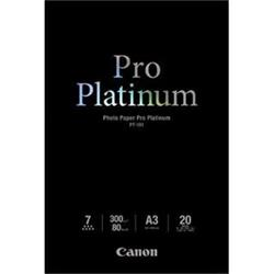 Canon PT-101 A3 Photo Paper Pro Platinum 20sheets 300g/m2