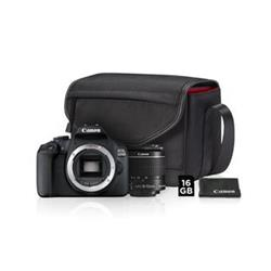 CANON zrcadlovka EOS 2000D + 18-55mm IS II Value Up Kit