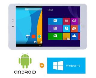 "Chuwi tablet Hi8 Pro 8"" bílý, Windows 10/Android 5.1 dualboot"