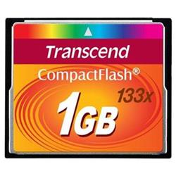 Compact Flash 1GB Ultra 133x Transcend (MLC) (TS1GCF133)
