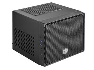 Coolermaster mini ITX Elite 110, black, mini ITX, bez zdroje