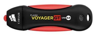 Corsair Flash Voyager GT USB3.0 128GB, 230/160MB/s, gumový povrch