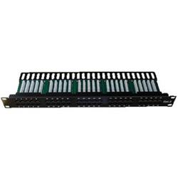 DATACOM ISDN Patch panel 50 port CAT3 LSA 1U BK