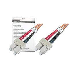 DIGITUS Fiber Optic Patch Cord, SC to SCMultimode 50/125 µ, Duplex Length 1m