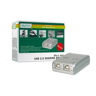 Digitus USB 2.0 Sharing Switch, 2 PC - 1 Device