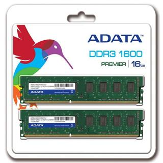 DIMM A-DATA DDR3 16GB 1600MHz ADATA (Kit 2x8GB), CL11, retail