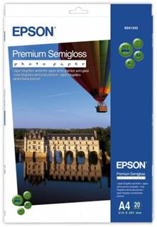 Epson papír A4 Premium Semigloss Photo - 20 sheets