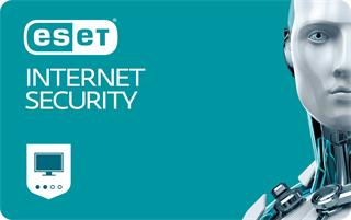 ESET Internet Security 2 lic. 1 rok update (EIS002U1) elektronická