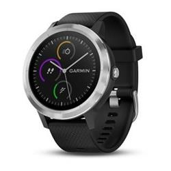 Garmin vívoActive3 Optic Silver, Black band