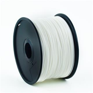 Gembird filament ABS 1.75mm 1kg, bílá