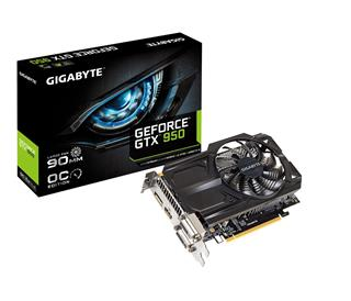 GIGABYTE GeForce GTX 950 GV-N950OC-2GD