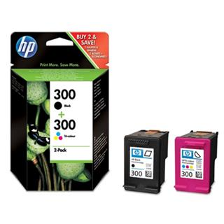 HP 300 Black+Color CN637EE