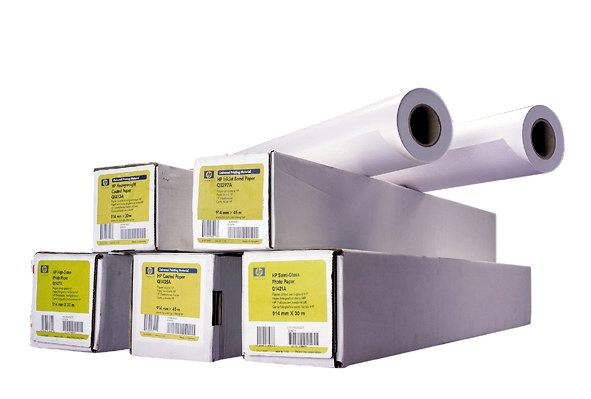 HP Heavyweight Coated Paper, A0, 30 m, 130 g/m2