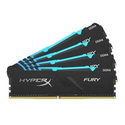 HyperX FURY DDR4 64GB (Kit 4x16GB) 2400MHz CL15 RGB