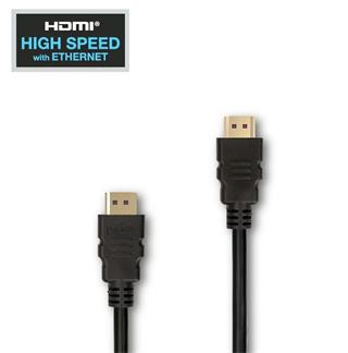 KABEL APEI Budget High-Speed HDMI to HDMI cable 1,5m (black)
