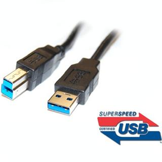 Kabel USB 3.0 Super-speed 5Gbps A-B 9pin 1m