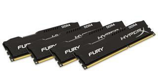 Kingston HyperX Fury 16GB (Kit 4x4GB) 2666MHz DDR4 CL15, černý chladič