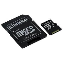 Kingston SDC10G2/128GB MicroSDXC class 10, 45MB/s,  UHS-1, dozivotni zaruka  + SD adaptér