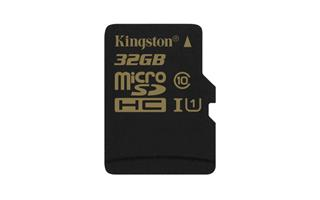 Kingston SDCA10/32GB Ultimate Micro SDHC class 10, 90MB/s, UHS-1, dozivotni zaruka + SD adaptér
