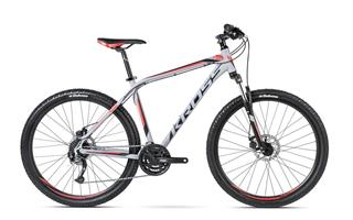 "Kross 16 HEXAGON R5 27,5"" S grey/black/red matt"