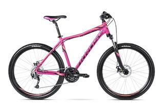 "Kross 16 Lea R4 27,5"" S fuchsia/black/orange matt"