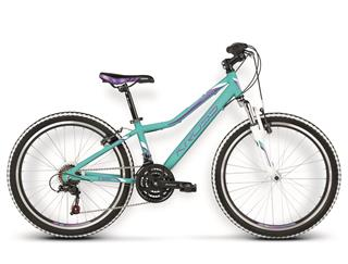 "Kross 16 Lea Replica 24"" turquoise/violet glossy"