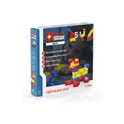 LIGHT STAX Basic Set - LEGO®, 30 kostek, základna